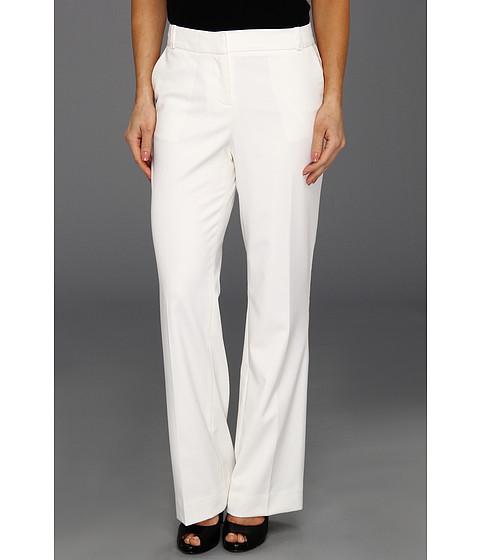 Pantaloni Anne Klein New York - Petite Wide Leg Pant - White