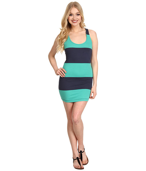 Rochii Vans - Seacoast Stripe Dress - Navy