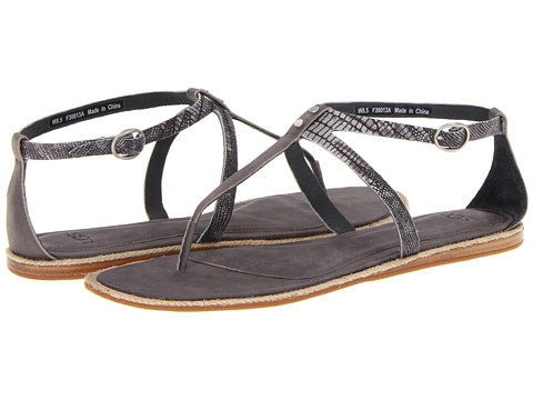 Sandale UGG - Kennaria Snake - Charcoal Leather