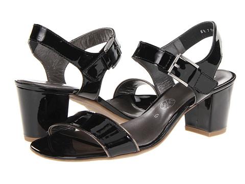 Sandale ara - Brogan - Black/Metallic Titan Leather