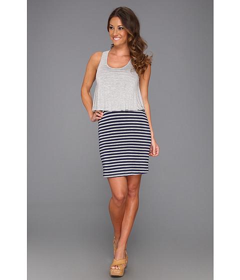 Rochii Big Star - Hailey Double Layer Tank Dress - Grey