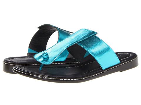Sandale Donald J Pliner - Glide - Turquoise Metallic Kid