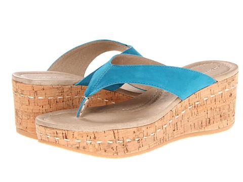 Sandale Donald J Pliner - Shana 2 - Turquoise Soft Nubuk