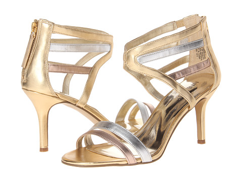 Pantofi Nine West - GeezLouis - Gold Multi Synthetic