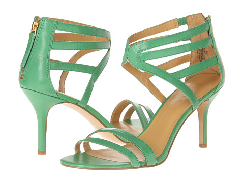 Pantofi Nine West - GeezLouis - Green Leather