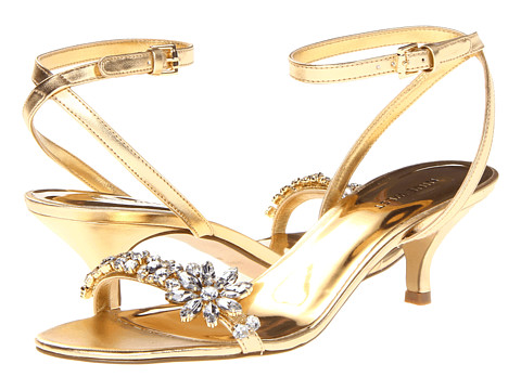 Sandale Nine West - OffCourse - Warm Gold Synthetic