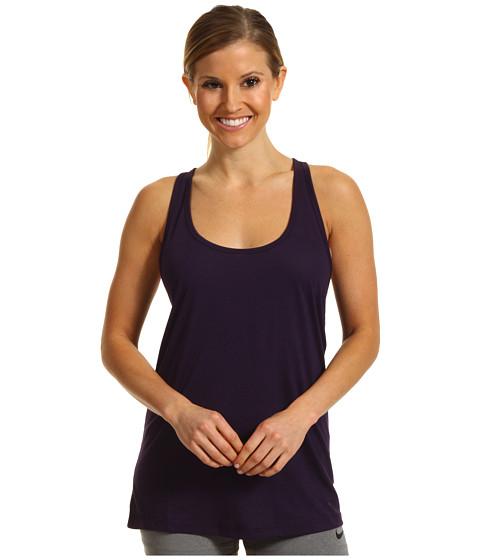 Tricouri Nike - Flow Tank - Grand Purple Heather/Grand Purple