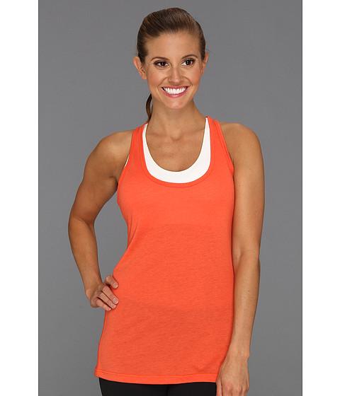 Tricouri Nike - Flow Tank - Light Team Orange Heather/Electro Orange