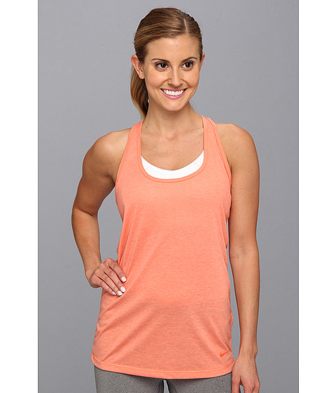 Bluze Nike - Flow Tank - Turf Orange Heather/Turf Orange