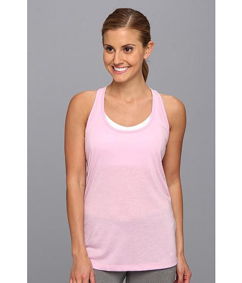 Bluze Nike - Flow Tank - Light Arctic Pink Heather/Light Arctic Pink