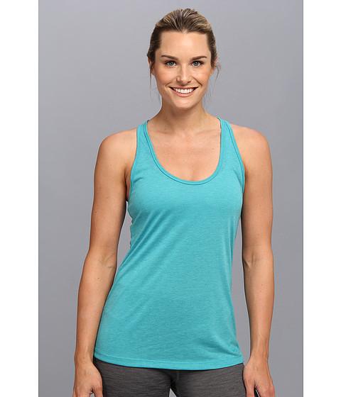 Bluze Nike - Flow Tank - Aquamarine Heather/Turbo Green