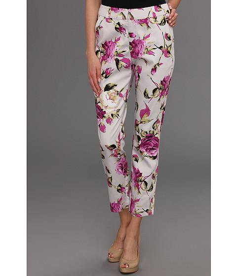 Pantaloni Gabriella Rocha - Lainey Floral Pant - Magenta/Grey