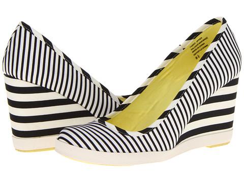 Pantofi Seychelles - Alright With Me - Black/White Stripe
