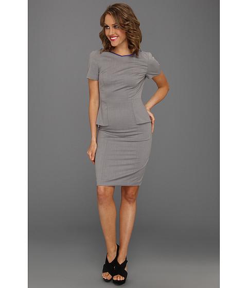 Rochii Elie Tahari - Sybil Dress - Grey Multi