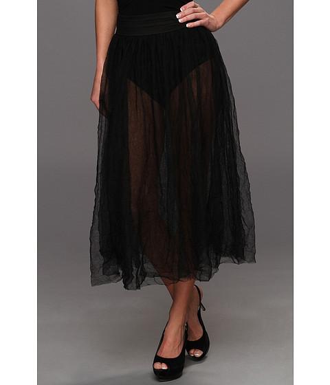 Fuste Free People - Raw Tulle Skirt - Black