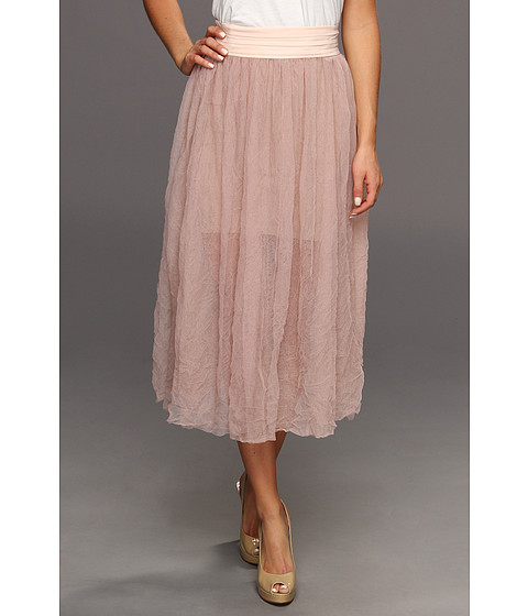 Fuste Free People - Raw Tulle Skirt - Shell