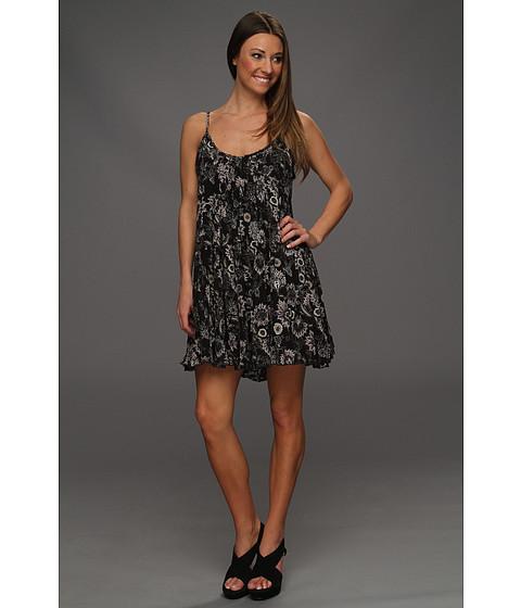 Rochii Free People - Pintuck Gauze Dress - Black Combo