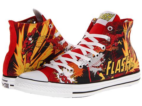 Adidasi Converse - Chuck Taylorî All Starî Hi - DC Comicsâ⢠- Flash