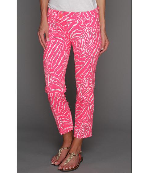 Pantaloni Lilly Pulitzer - Luxury Capri - Splash Pink Show Your Stripes