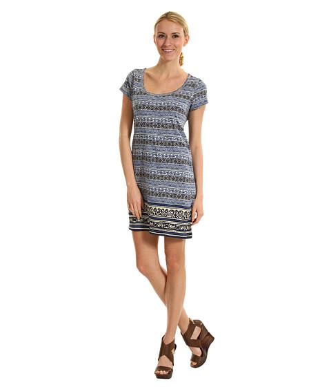Rochii Lucky Brand - Irving & Fine T-Shirt Dress - American Navy Multi
