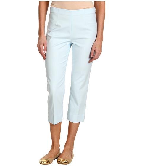 Pantaloni NIC+ZOE - Sand + Sea Perfect Pant Side Zip Crop - Ice Blue