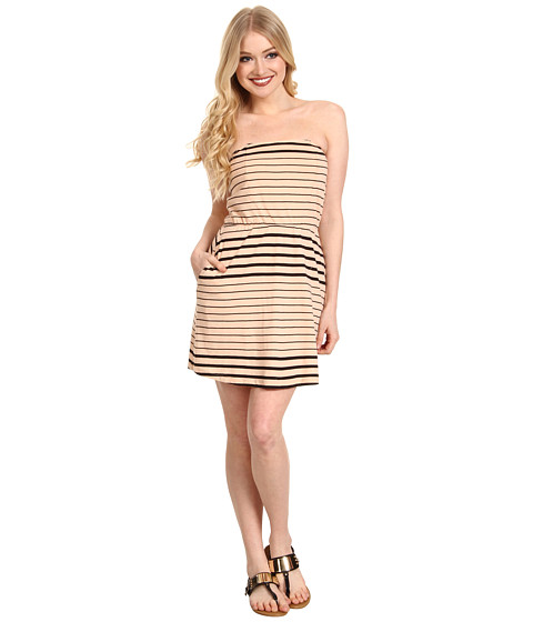 Rochii Volcom - Between The Lines Dress - Bellini Peach