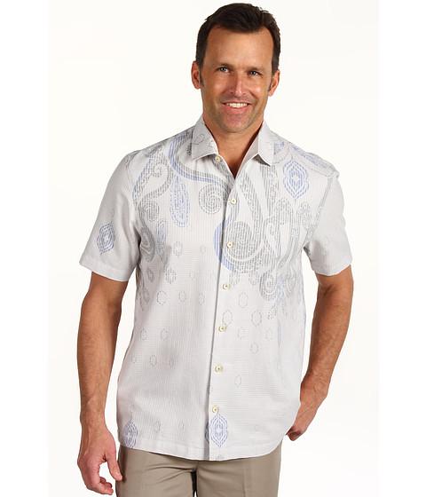 Camasi Tommy Bahama - Island Modern Fit Paisley Nation Camp Shirt - Fresh Air
