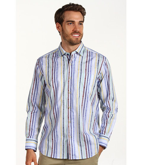 Camasi Tommy Bahama - St. Barts Stripe L/S Shirt - Fresh Air