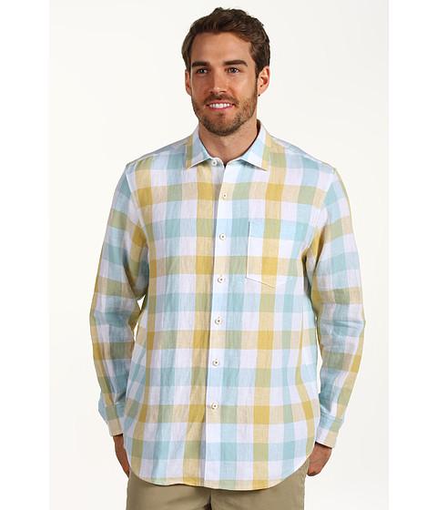 Camasi Tommy Bahama - Viva La Gingham L/S Shirt - Marzipan