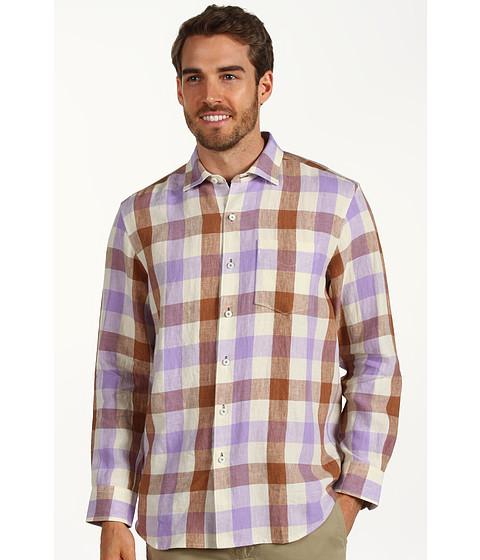 Camasi Tommy Bahama - Viva La Gingham L/S Shirt - Spanish Lavender