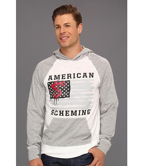 Bluze ECKO - American Scheming Hoodie - Bleach White