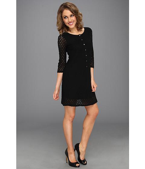 Rochii Brigitte Bailey - Cassia 3/4 Sleeve Lace Dress - Black
