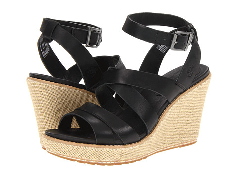 Sandale Timberland - Earthkeepersî Danforth Leather Jute Wrapped Sandal - Black