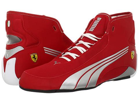 Adidasi PUMA - Alekto Mid Ferrari - Rosa Corsa/Puma Silver