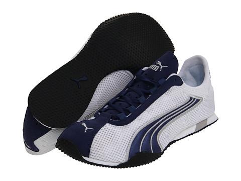 Adidasi PUMA - H-Street+ - White/New Navy/Silver