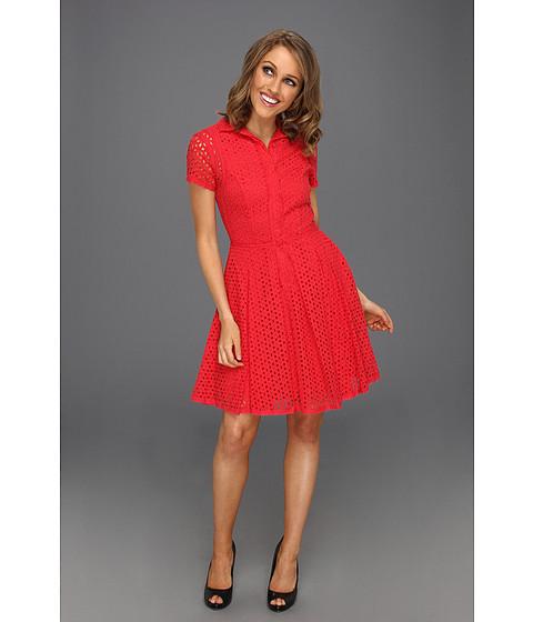 Rochii BCBGMAXAZRIA - Dasha Fit and Flare Dress - Lipstick Red