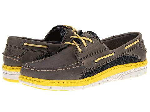 Pantofi Sperry Top-Sider - Billfish Ultralite 3-Eye - Gray/Yellow