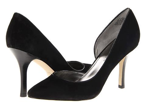 Pantofi Anne Klein New York - Zya - Black Suede