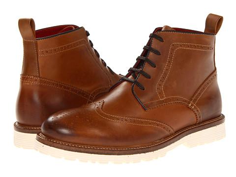 Ghete Steve Madden - Lamberr - Cognac Leather