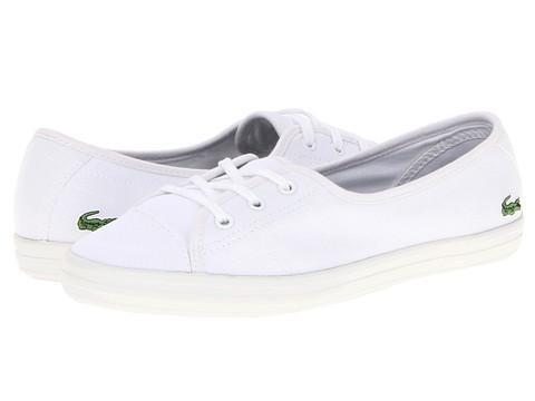 Adidasi Lacoste - Zianechnkw - White/White