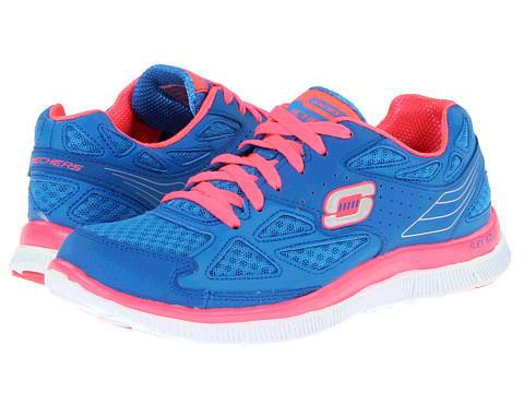 Adidasi SKECHERS - Flex Appeal-Align - Blue/Hot Pink
