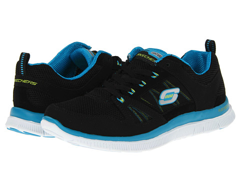 Adidasi SKECHERS - Spring Fever - Black/Blue
