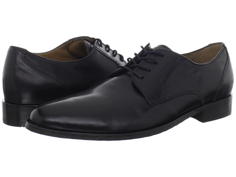 Pantofi Bostonian - Treme - Black Leather