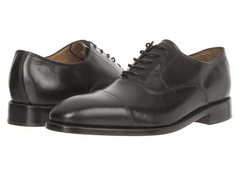 Pantofi Bostonian - Veldt Cap Toe - Black