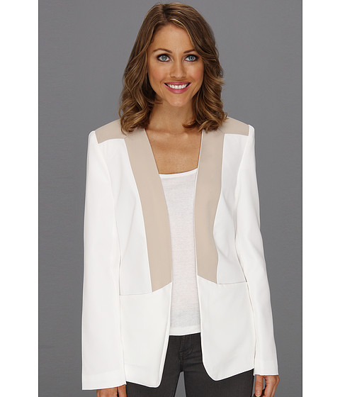 Sacouri Calvin Klein - Combo Jacket - Soft White