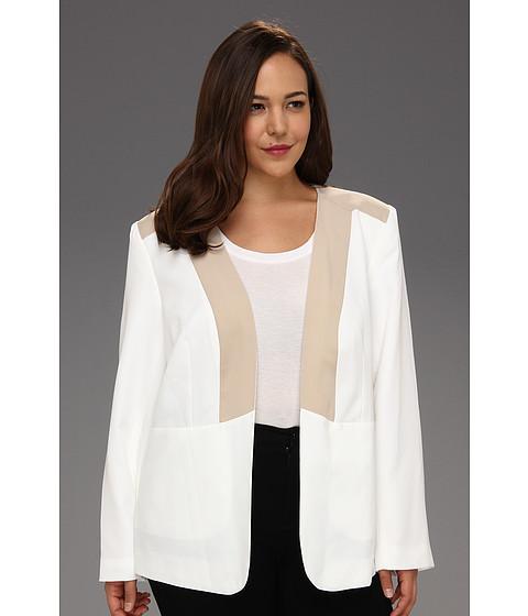 Sacouri Calvin Klein - Plus Size Combo Jacket - Soft White
