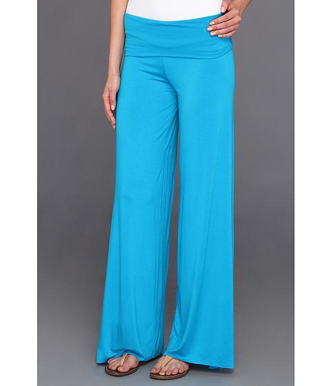 Pantaloni Culture Phit - Cleo Comfy Flare Pant - Blue