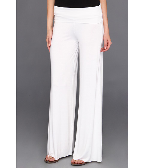 Pantaloni Culture Phit - Cleo Comfy Flare Pant - White