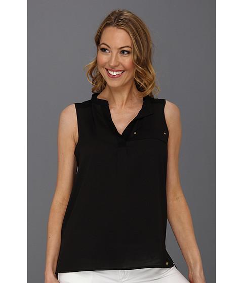 Tricouri Calvin Klein - Solid Mixed Media - Black