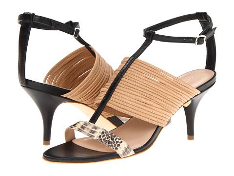 Pantofi Loeffler Randall - Robin - Tan/Black